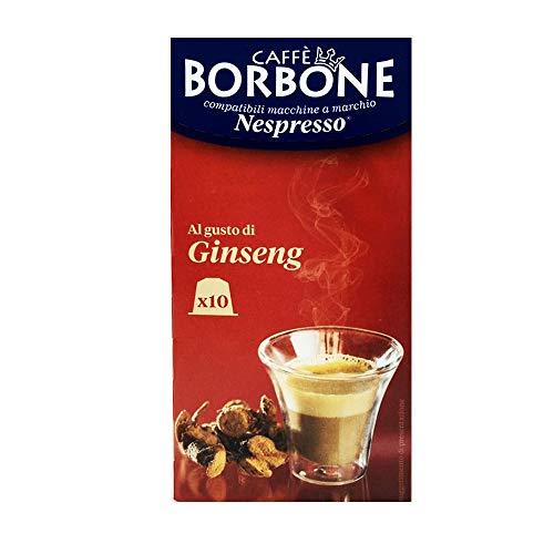 10 Capsule Caffè Borbone ginseng compatibili Nespresso ®