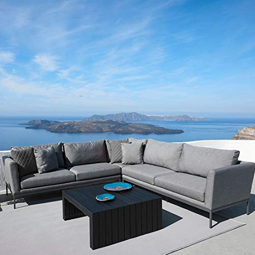OUTLIV. Loungemöbel Outdoor Sky 2 Loungeecke 4tlg. Aluminium/Sunbrella Gartenlounge Outdoor Lounge Garten Terrasse Balkon