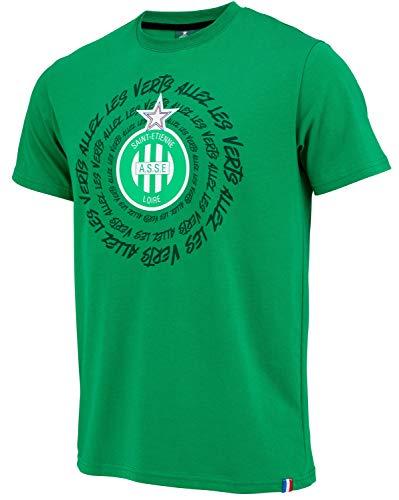 AS Saint Etienne T-Shirt ASSE - Official Collection Men's Size L