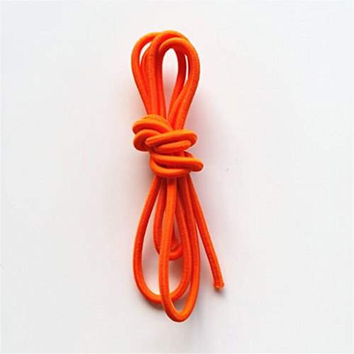 Hellery Cuerda de Amortiguador Elástico Cuerda Elástica Amarre Remolque Kayak en Bote - Naranja 3mm 5m - 3 mm 2 m