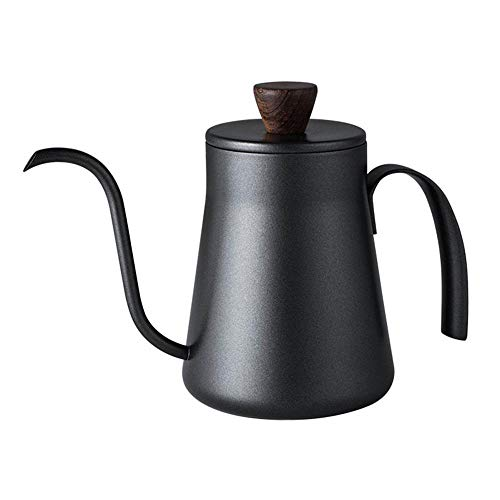 CUJUX Mini Acero Inoxidable Espesar Café Té Gotero Pot Caldera casa Cocina Gadget Hervidor Cisne Cuello Delgado Boca