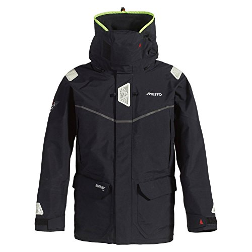 Musto 2016 MPX Offshore Jacket in Black SM1513R Size - - Extra Extra Large