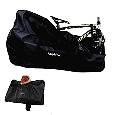 Aophire Folding Bike Bag Thick Bicycle Carry Bag,Bike Transport Case for Transport,Air Travel,Shipping (26 inch
