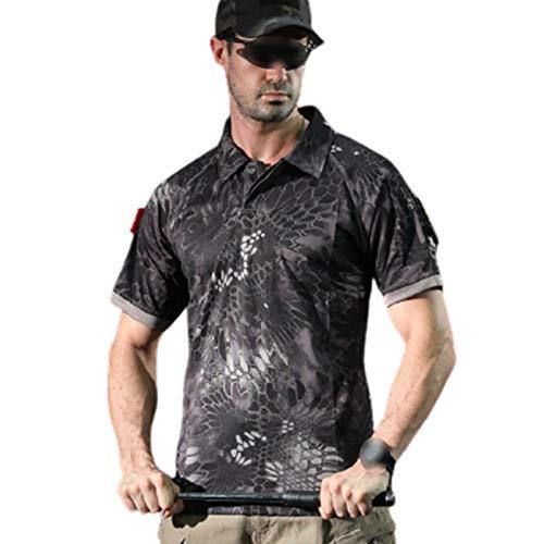 FACAI Camiseta de Culturismo para Hombre - Camiseta de Entrenamiento de Gimnasio,Onecolor-S
