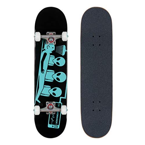 Alien Workshop Abduction - Skateboard completo da 19,7 cm