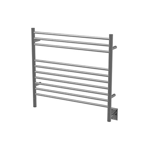 Best Review Of Amba KSB-30 Ks-30 K-Straight Heated Towel Rail In Brushed
