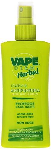 Vape Derm Herbal Lozione Antipuntura, 100ml