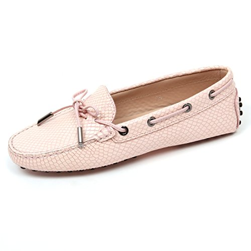 Tod's C9078 Mocassino Donna Heaven Scarpa rosa Loafer Shoe Woman pink [35]