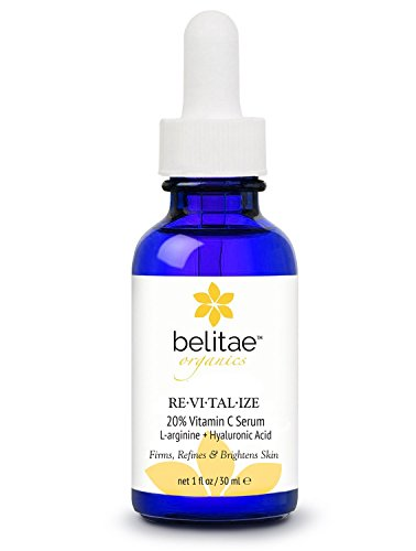 Belitae Vitamin C Serum for Face, Age Spot Corrector and Anti Aging Serum with Hyaluronic Acid