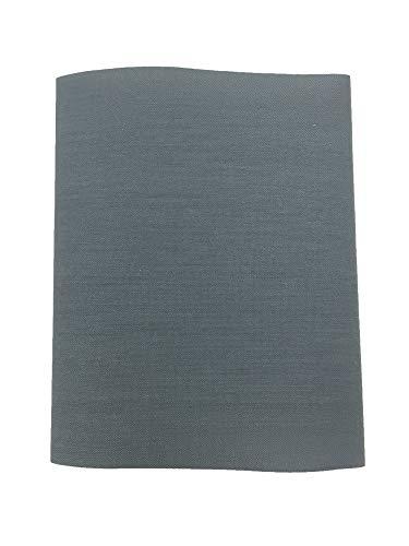 Haberdashery Online 1 Parche Termoadhesivo, Tela reparadora para pantalón. 30x9 cms (10. Gris Medio)