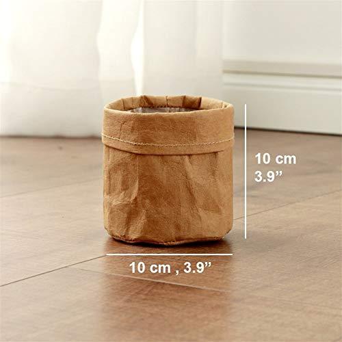 Vases végétaux de Culture Sac New Home Décorations de Bureau Panier de Fleurs charnue Pot de Jardin Pot Thicken Bricolage (Color : B 10cm)