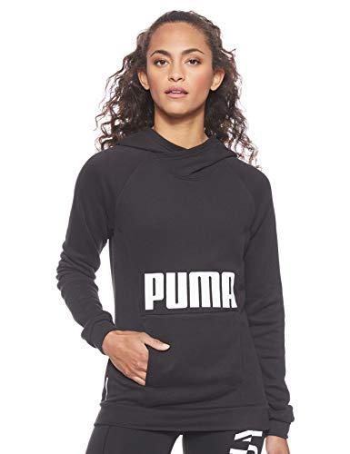 PUMA Damen Fav Hoodie Pullover, Black, L