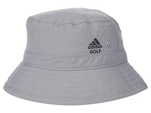 adidas UPF Bucket Hat (Little Kids/Big Kids) Grey Three One Size