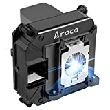 Araca ELPLP60 /ELPLP61 Replacement Projector Lamp with Housing for EPSON 425Wi 430i EB-95 H382A H383A H384A PowerLite 420 425 905 92 93 93+ 95 96W PowerLite 915W PowerLite 430 H388A EB-915W