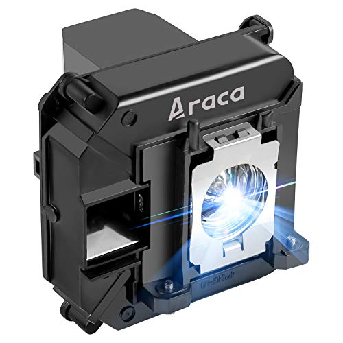 Araca ELPLP68 Replacement Projector Lamp with Housing for Epson EH-TW6000 TW5910 TW6100 TW5900 PowerLite HC 3020 3020e 3010 3010e Projector