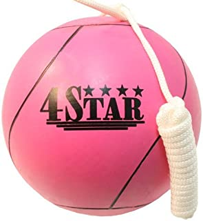 Lastworld New Pink Color Tether Balls for Play Grounds & Picnics Included with Ropes