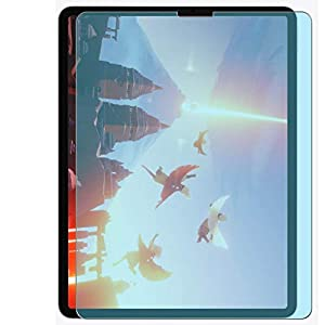Vaxson Pack of 2 Anti Blue Light Protective Film for Apple iPad Pro 12.9 2020 12.9 Inch Screen Protector Bubble-Free TPU Film [Not Tempered Glass] Anti Blue Light