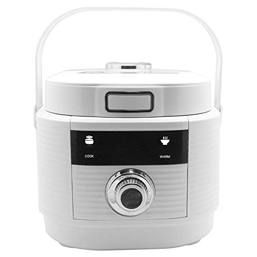YIDPU Reiskocher,multifunktionaler Topf Einfache EIN-knopf-bedienung Mit Einem Tragbaren Griff, Geeignet Für 3-6 Personen Suppe Gedünsteter Reis Heißen Topf Kochen 3 Liter 500w
