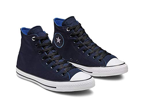 Converse Unisex Chuck Taylor All Star Space Explorer - HI Gymnastikschuh, Obsidian Black White, 39.5 EU