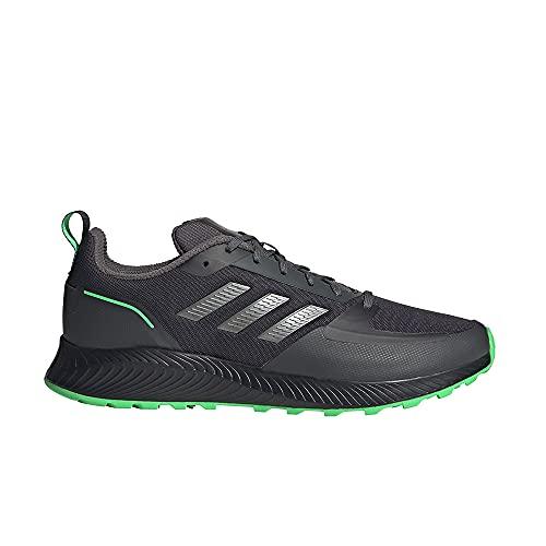 adidas RUNFALCON 2.0 TR, Zapatillas de Running Hombre, Carbon/HIEMET/VERCHI, 42 2/3 EU