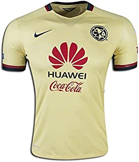 Nike Soccer Replica Jersey: Nike Club America Authentic Home Replica Soccer Jersey 15/16 M