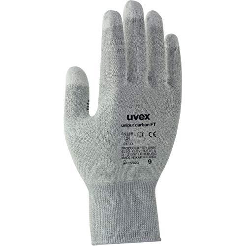 Uvex Unipur Carbon FT Schutzhandschuhe - 1 Paar Antistatische Arbeitshandschuhe 08/M