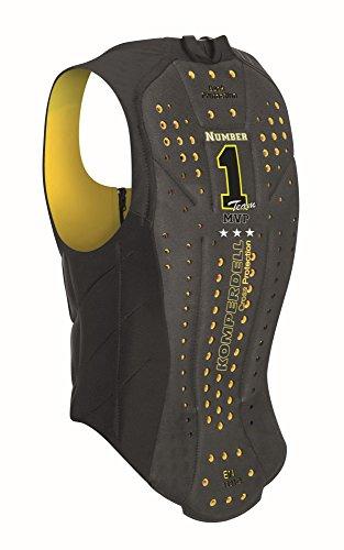 KOMPERDELL Ballistic Vest Junior Yellow Protection, Unisex Erwachsene, Unisex-Erwachsene, 6287-206.F18, Schwarz, 152