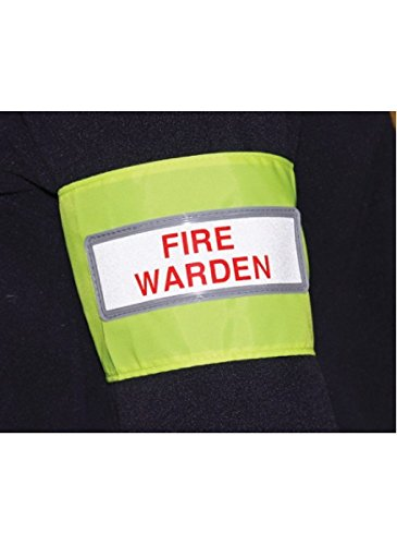 Caledonia Signs 56448 Fire Warden Reflecterende Armband