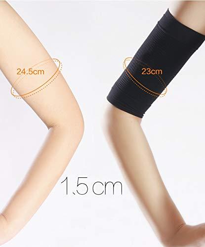 YiyiLai 680D Damen Sommer Slim Fit Arm Schütze Elastisch Kompression Ärmel Armstulpen (1 Paar) Hautfarbe - 2