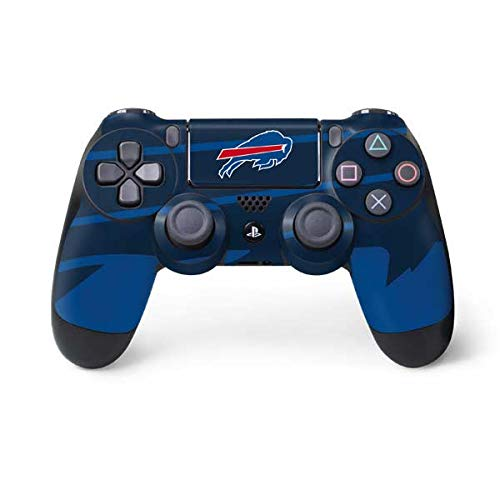 Skinit Decal Gaming Skin for PS4 Controller - Officially Licensed NFL Buffalo Bills Double Vision Design
