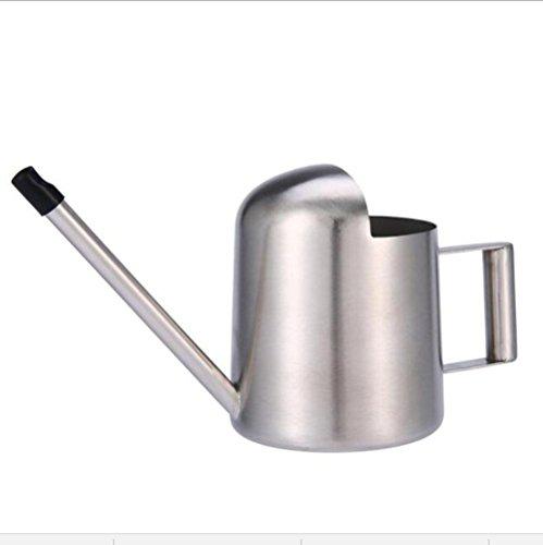 QuiCi 300 ml Arrosoir Spray Bouteille avec long bec Arroseur Fleur d'arrosage Pulvérisateur de jardin bouilloire en acier inoxydable Salon de beauté