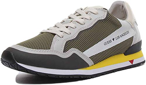 Guess Zapatos para hombre Art FM6GENFAB12 col. Foto med. a elegir Verde Size: 40 EU