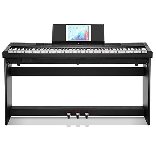 Piano Eléctrico 88 Teclas Contrapesadas, Donner DEP-20S Piano Digital 88 Teclas con...
