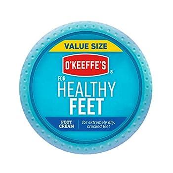 O Keeffe s Healthy Feet Foot Cream 6.4 Oz Jar White  104042