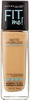 (3 Pack) MAYBELLINE Fit Me! Matte + Poreless Foundation - Natural Buff 230 (並行輸入品)