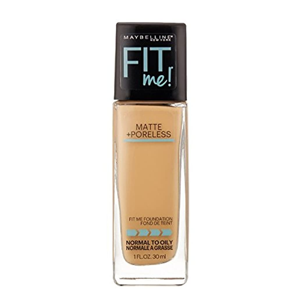 ロッドノイズミシン(3 Pack) MAYBELLINE Fit Me! Matte + Poreless Foundation - Natural Buff 230 (並行輸入品)