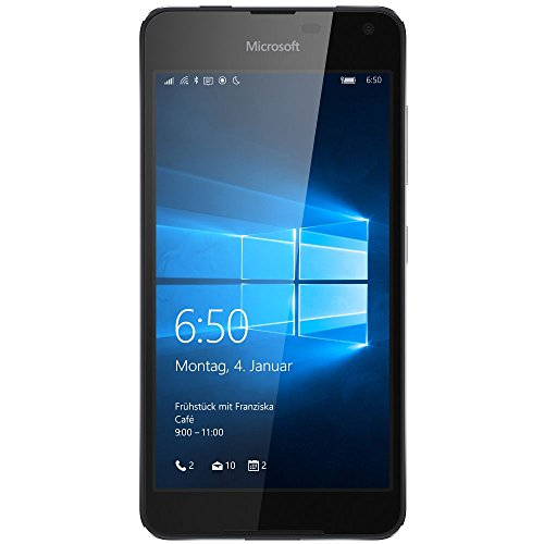 Microsoft Lumia 650 Smartphone (5 Zoll (12,7 cm) Touch-Display, 16 GB Speicher, Windows 10) schwarz