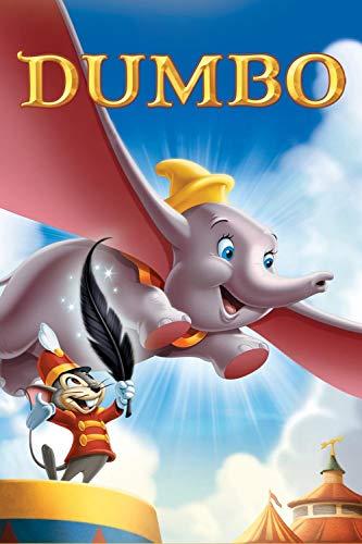 GUANGMANG 1000 Stück Puzzles Für Erwachsene Puzzles Dumbo Filmplakate Puzzle Kinder DIY Spielzeug Für Kreative Geschenk-Wohnkultur - 75X50Cm