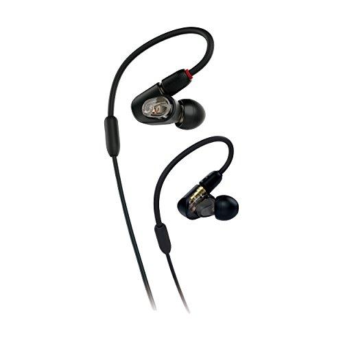 audio-technicaオーディオテクニカバランスド・アーマチュア型インナーイヤーヘッドホンブラックATH-E50