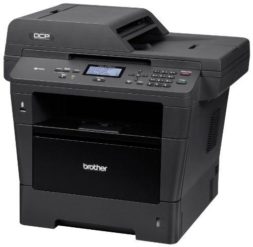 Brother DCP8155DN Monochrome Printer with Scanner and Copier, Amazon Dash Replenishment Ready