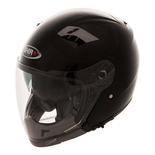 Shiro Casco modular SH414 414010, negro