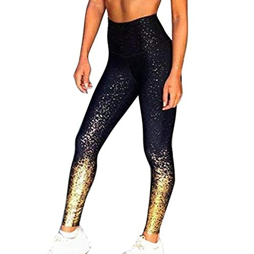 UKKD Las mujeres polainas de las Mujeres Polainas de Malla Pantalones Push Up Fitness Gym Leggins Ejecución Leggins Sin costuras Pantalones de Entrenamiento Femme Cintura Alta Mujer