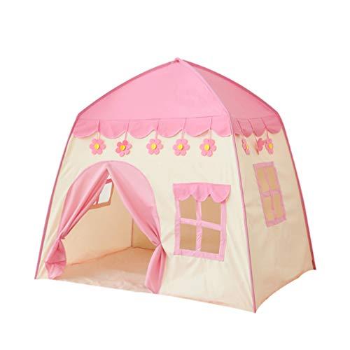 TOYANDONA Mini Kinderen Speelhuisje Draagbare Kindertent Indoor Prinses Prins Kasteel Opvouwbare Tent Cabane Chambre Enfant