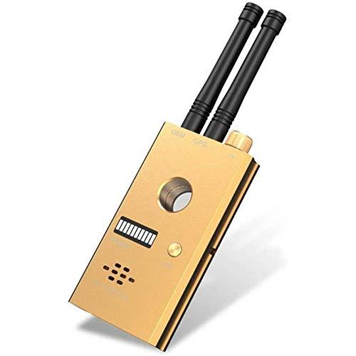HBBOOI Detector de la cámara Oculta, detectores de señal RF Detector de Insectos inalámbricos Detector de señal Anti-espía para cámara Oculta gsm Audio Bug Sweeper Finder RF Radio Scanner GPS Tracker
