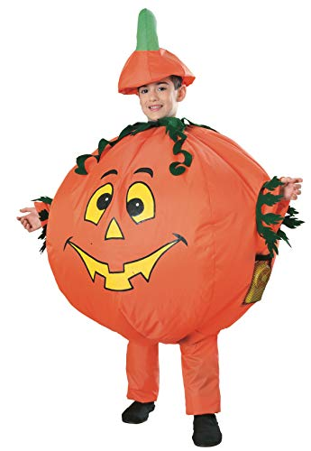 Pumpkin Halloween Costumes Childs Inflatable Costume