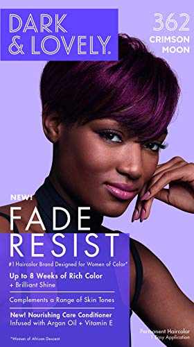 Dark And Lovely Hair Color Fade Resist 362 [Crimson Moon] (Pack of 1)