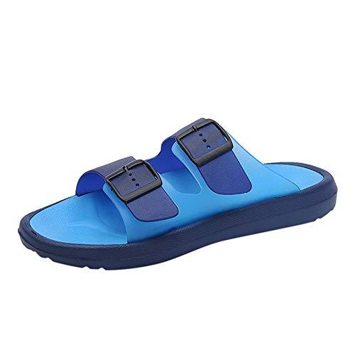 FELZ Zapatillas para Hombre Chancletas de Hombre Zapatillas de Verano para Hombres Sandalias Transpirables Zapatillas de Playa Antideslizantes para Exteriores