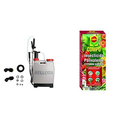 Bellota 3710-12 Pulverizador 12 Litros + Compo Cythrin Garden Insecticida Polivalente, Para...