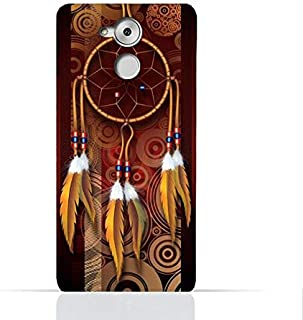 Huawei Enjoy 6s / Huawei Honor 6CTPU Silicone Case with American Feathers Design