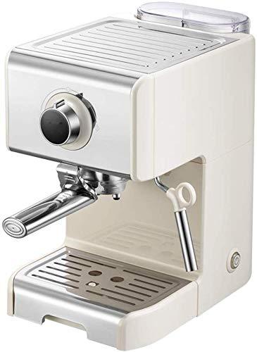 Couyy semi-automatische Italiaanse espressomachine en cappuccino-machine, koffielepel, grote kop, poeder, kleine kopje, punkkaart